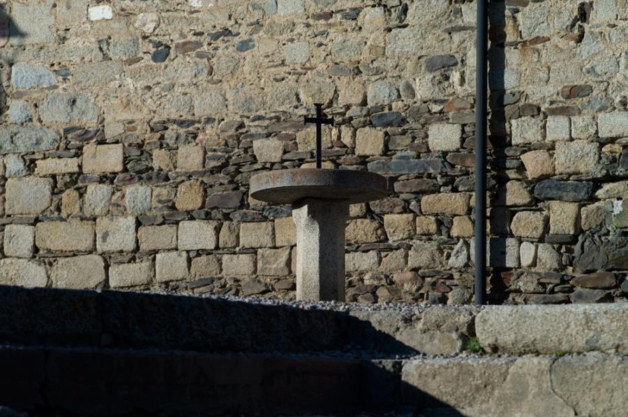 photographie de l'église de Llivia plateau de Cerdagne
