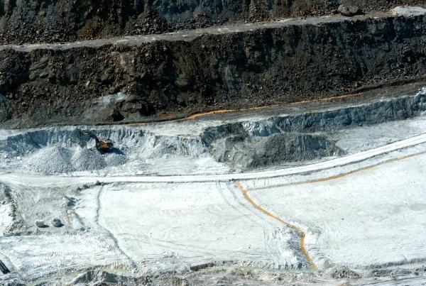 Carrière de Trimouns, Luzenac, Carrière de Talc, Vallée d'Ax les thermes, Vallée d'Ariège, Mine en Ariège
